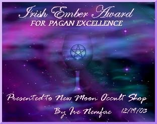 Irish Ember Award for Pagan Excellence