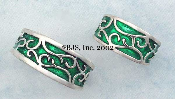 Elven Earth Rings At New Moon Pagan Jewelry