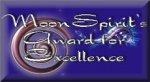 Moon Spirit's Award for Excellence