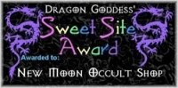 dragon goddess award
