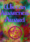 Wiccan Awareness Award